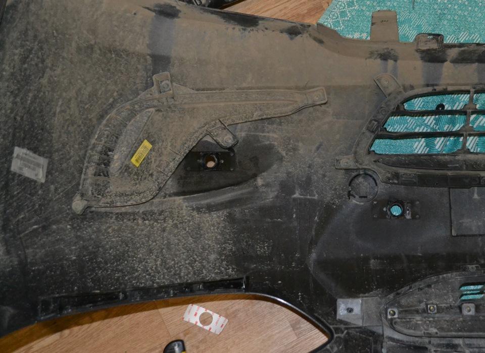 Hyundai Solaris Optima 1.4 + аудио › Бортжурнал › Установка парктроника в передний бампер. Мои грабли