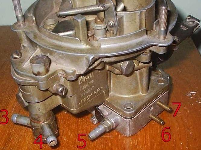 К-151 карбюратор схема подключения