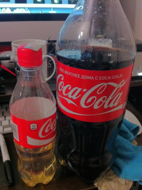 Кока кола в домашних условиях фото