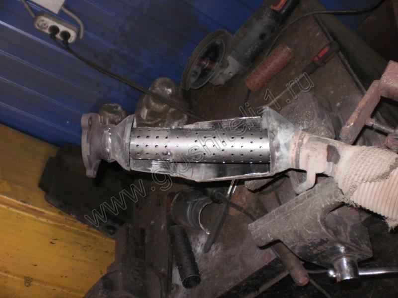 Как отремонтировать катализатор автомобиля своими руками