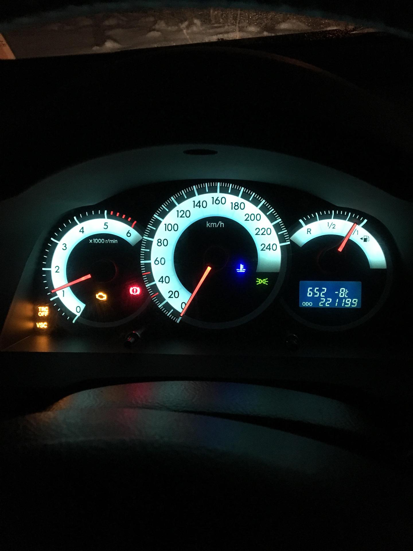 Ошибка P0400 , ЕРГ — Toyota Corolla Verso, 2 2 л , 2006 года на DRIVE2