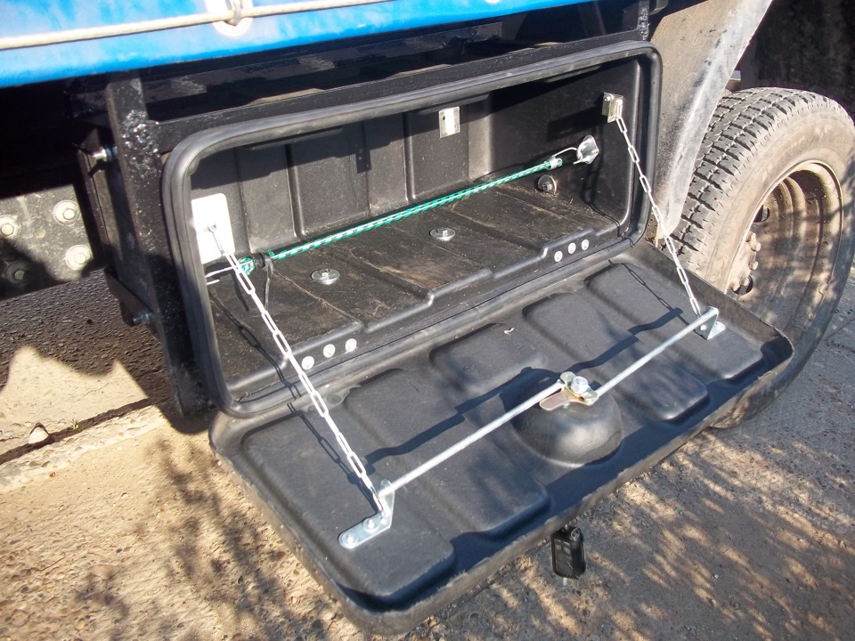 Ящик для инструментов для газели своими руками