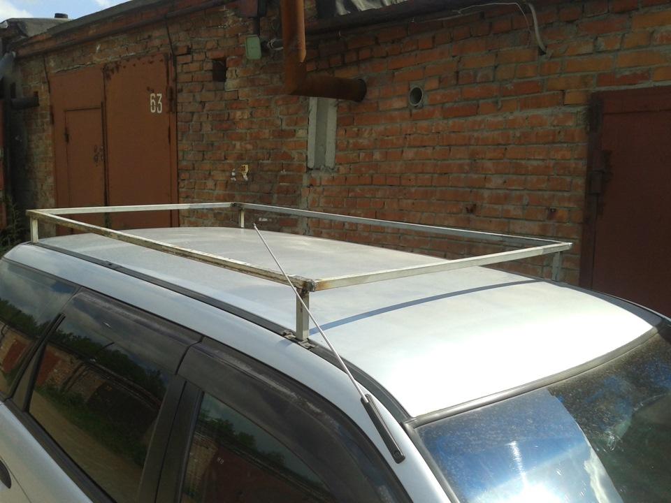 Багажник для крыши машины своими руками 44