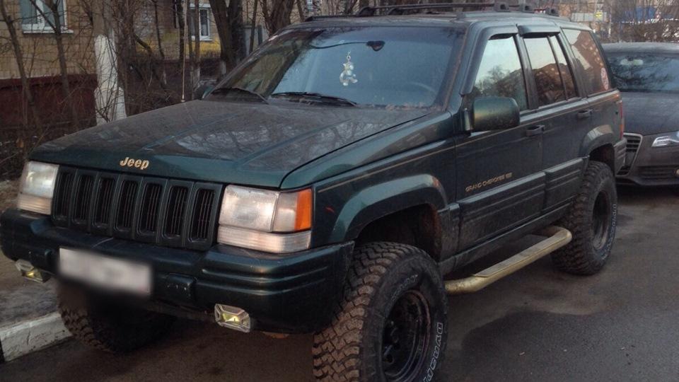 Jeep Grand Cherokee ZJ Limited 4.0 31 MT — отзыв владельца — DRIVE2.RU