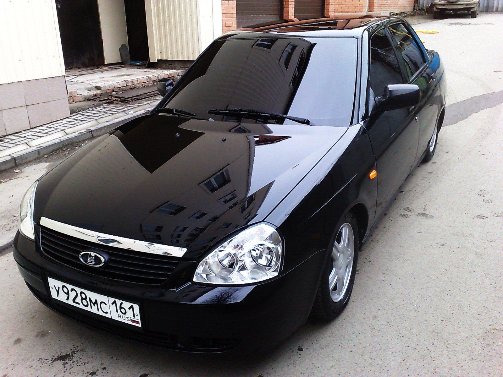 Тонированные черные машины в картинках