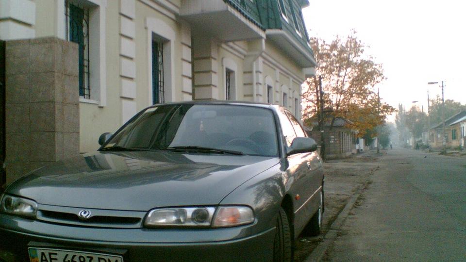 Мазда 626 1993 года фото