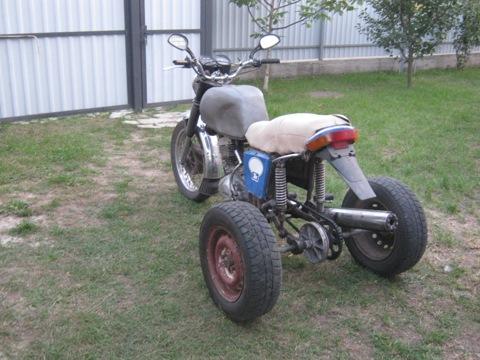 Самодельный мотоцикл иж - Самодельный болотоход-трицикл на ИЖ Планета 3