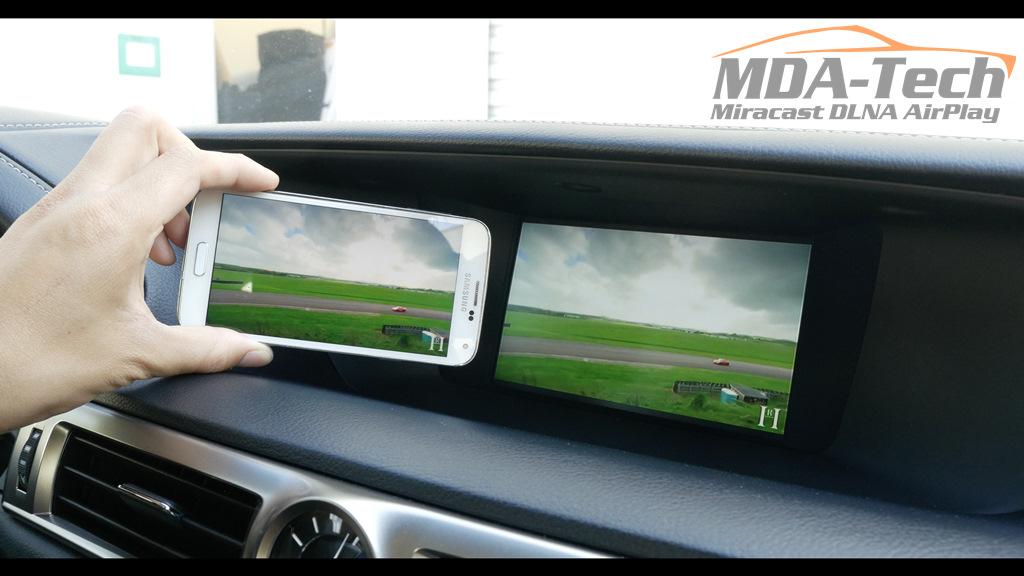 WiFi видео интерфейс на автомобиле Lexus GS 200t 2016 — MDA-Tech на