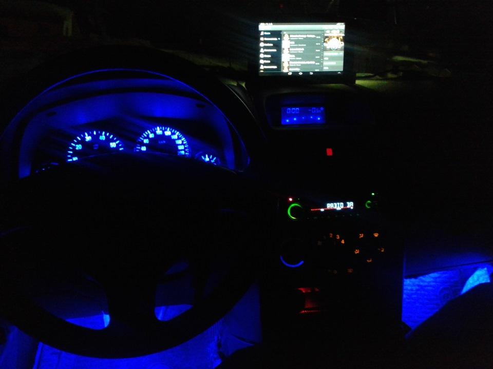 замена лампочки подсветки спидометра opel zafira