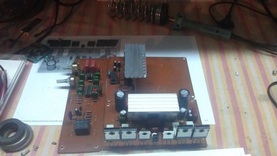 Усилитель для машины своими руками на микросхеме TDA