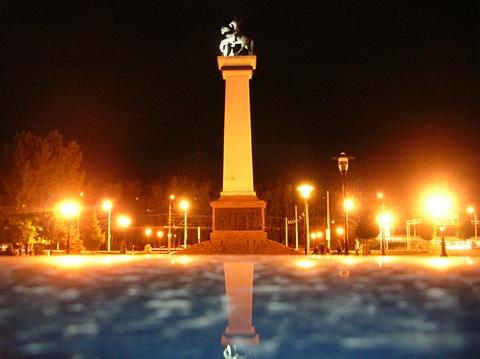 фото ночная рязань