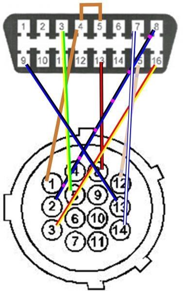 Схема переходника.