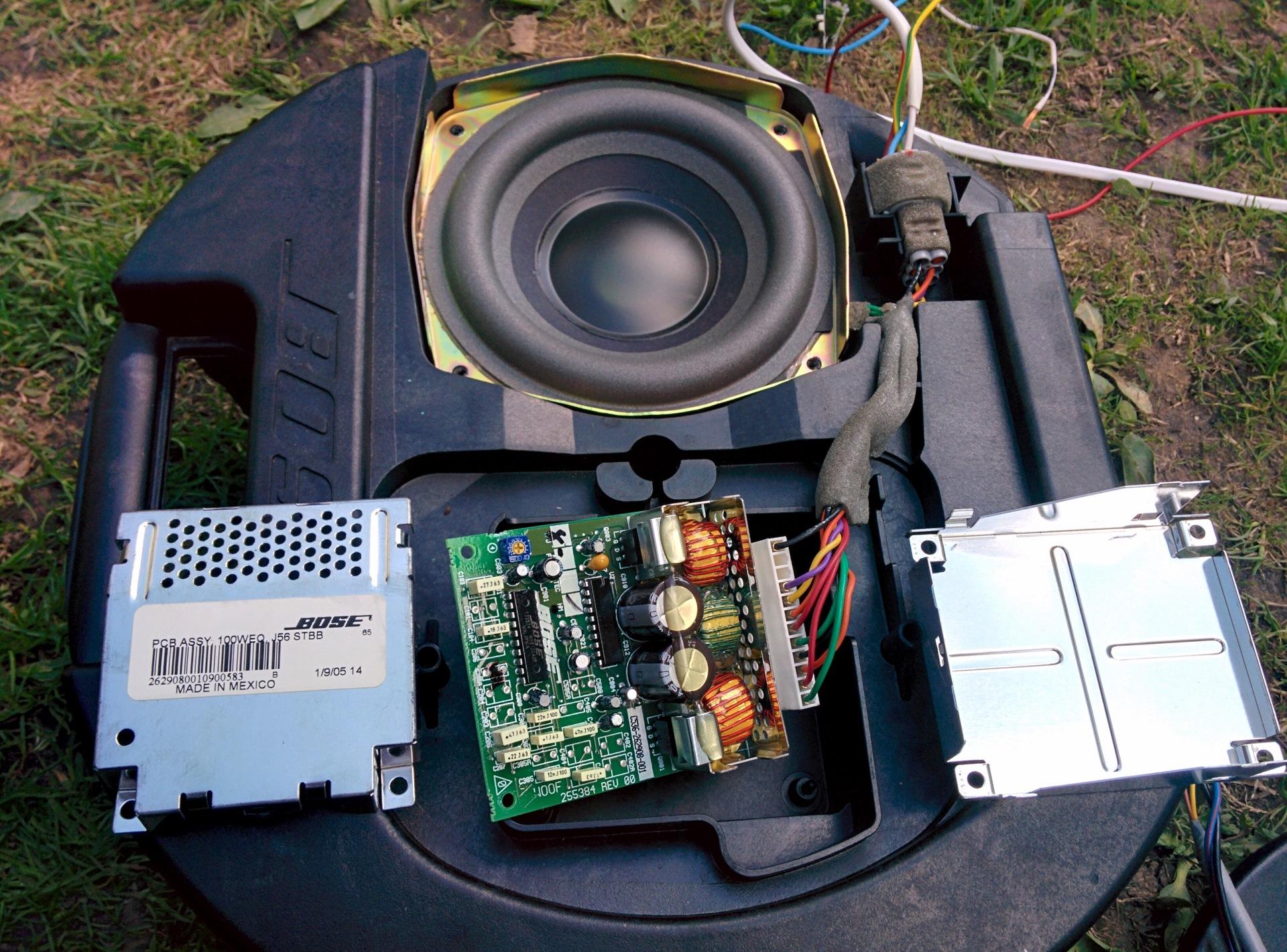 проблема с сабвуфером BOSE при подключении — Mazda 6, 2 0 л , 2007