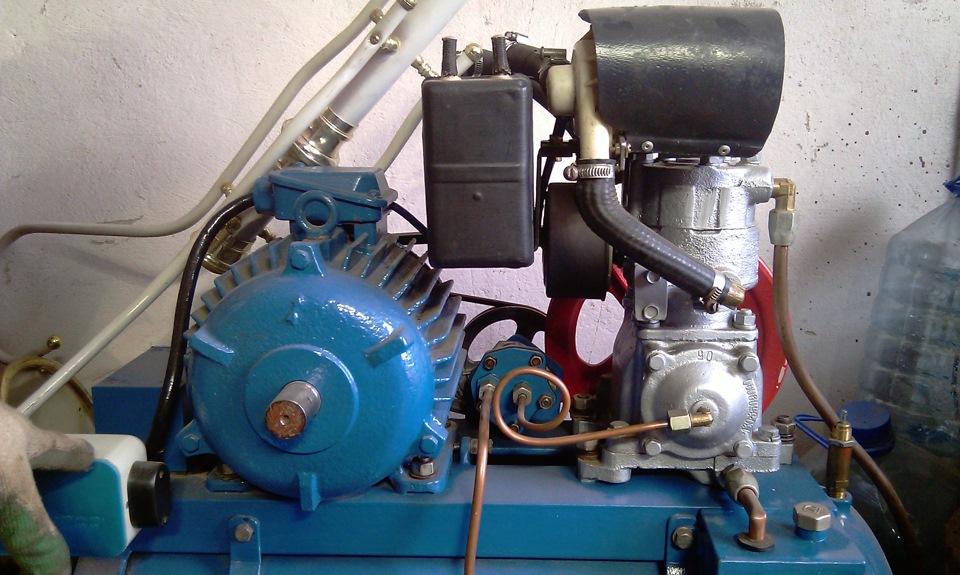 Воздушный компрессор своими руками зил 130