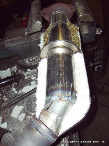 Пламегаситель вместо катализатора своими руками на приору