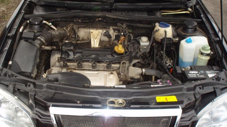 От чего подойдет двигатель на чери амулет запчасти на автомобиль чери амулет