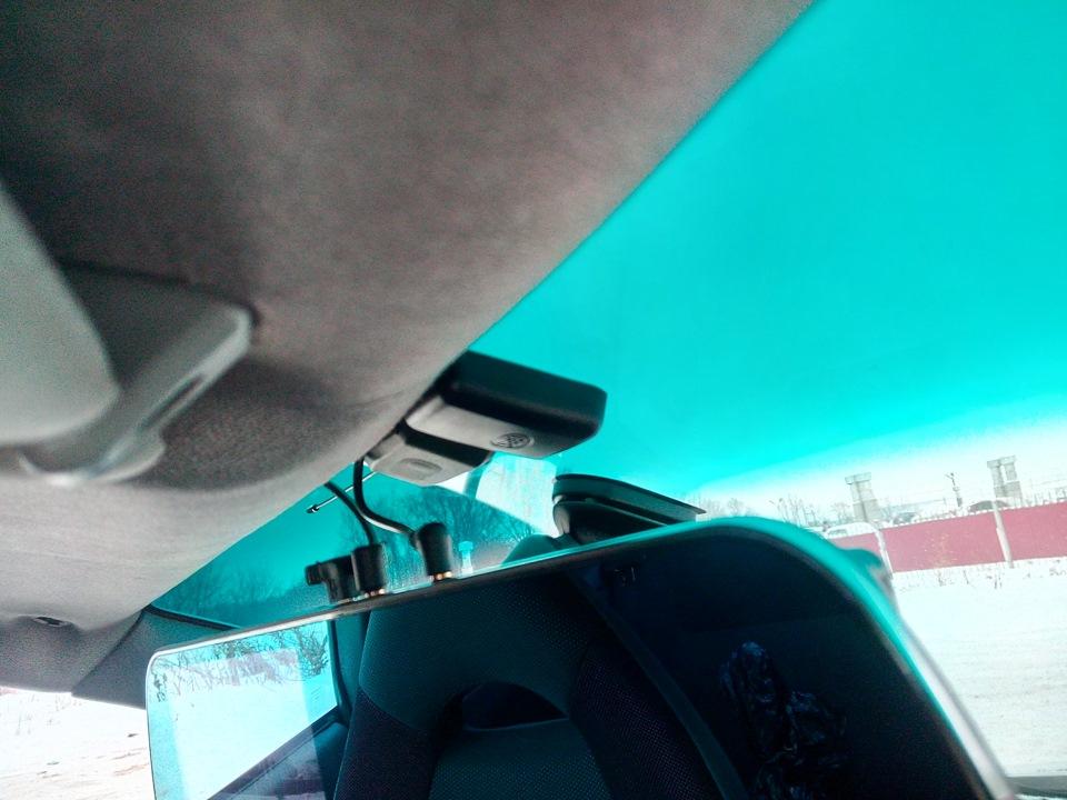 Зеркало видеорегистратор и антирадар