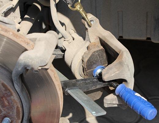 Реставрация тормозных колодок своими руками