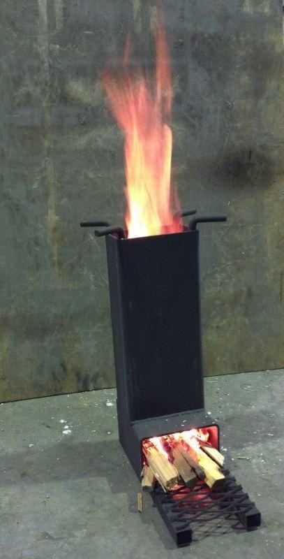 Печь ракета фото видео