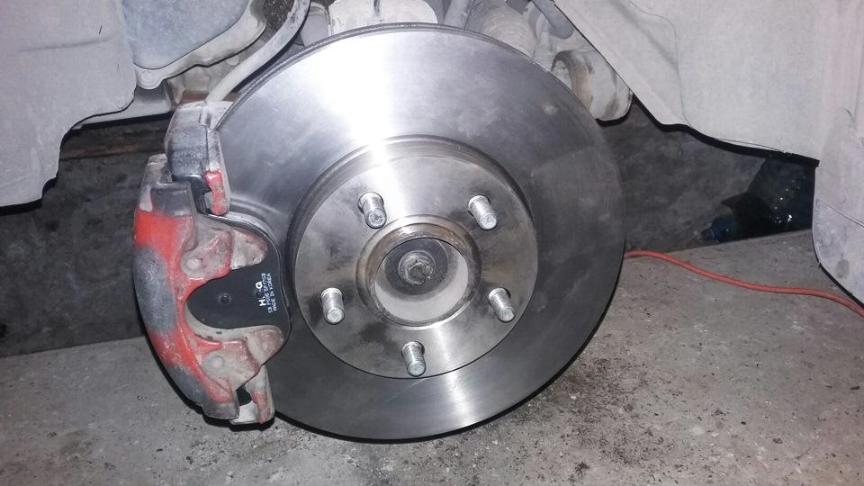 Форд фокус 2 замена тормозных колодок