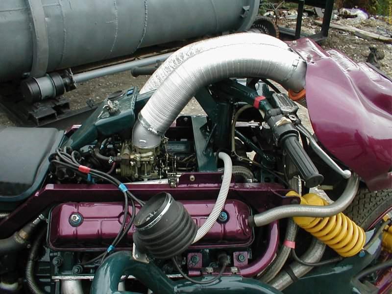 Двигатель на газ своими руками