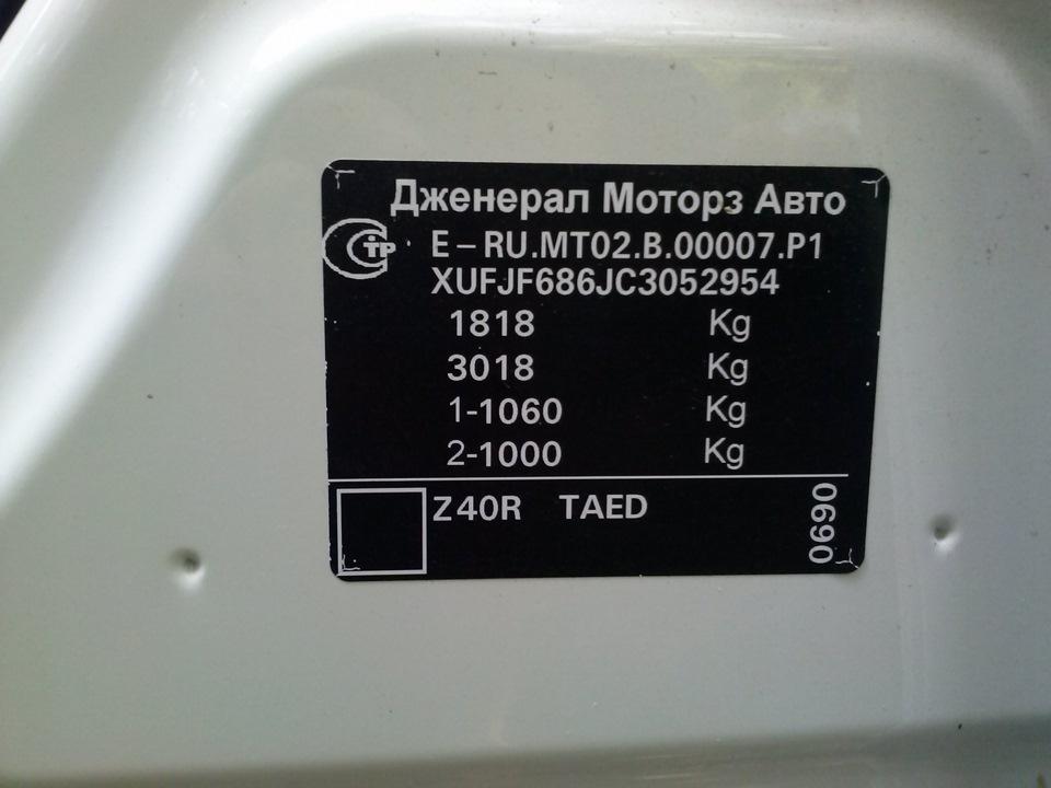 chevrolet cruze код краски z40r