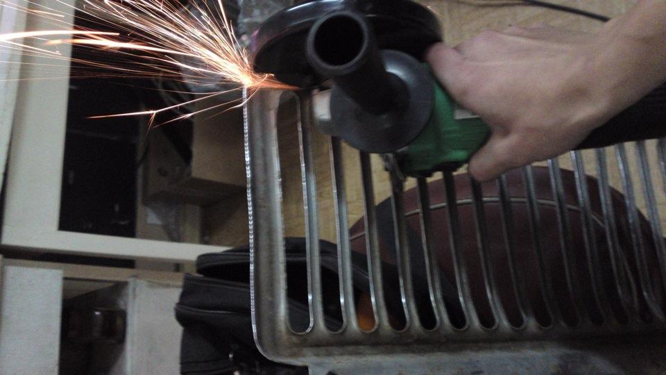 Процесс тюнинга радиатора