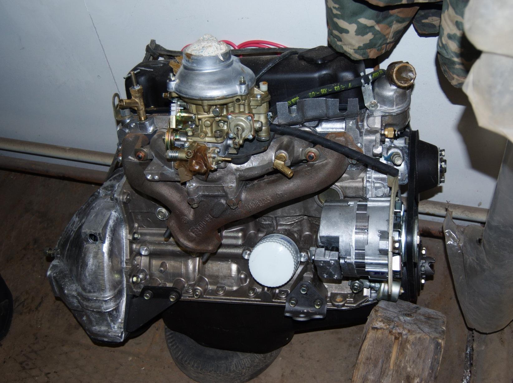 Б у двигатель на уаз 469