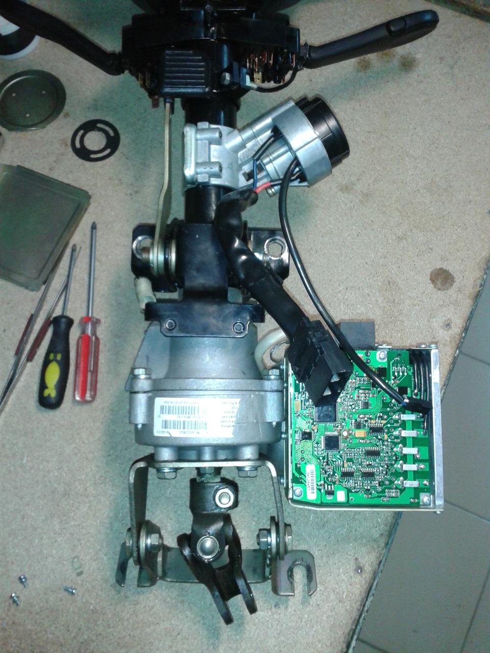 Ремонт электроусилителя руля на калине видео
