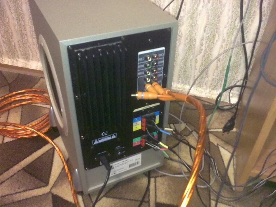 Самодельный сабвуфер для компьютера