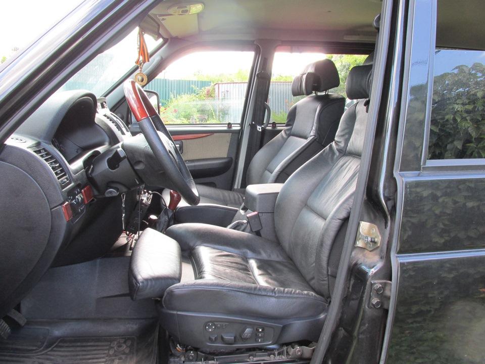 установка сидений в уаз патриот от bmw x5