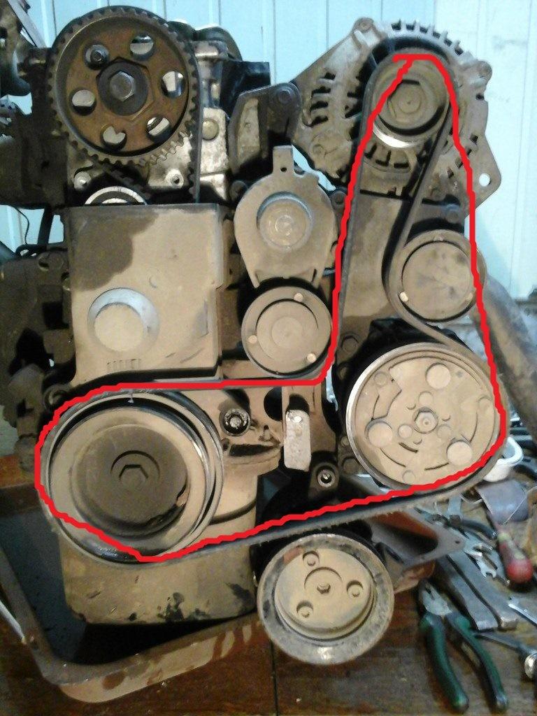 Схема ремня генератора газель фото 55