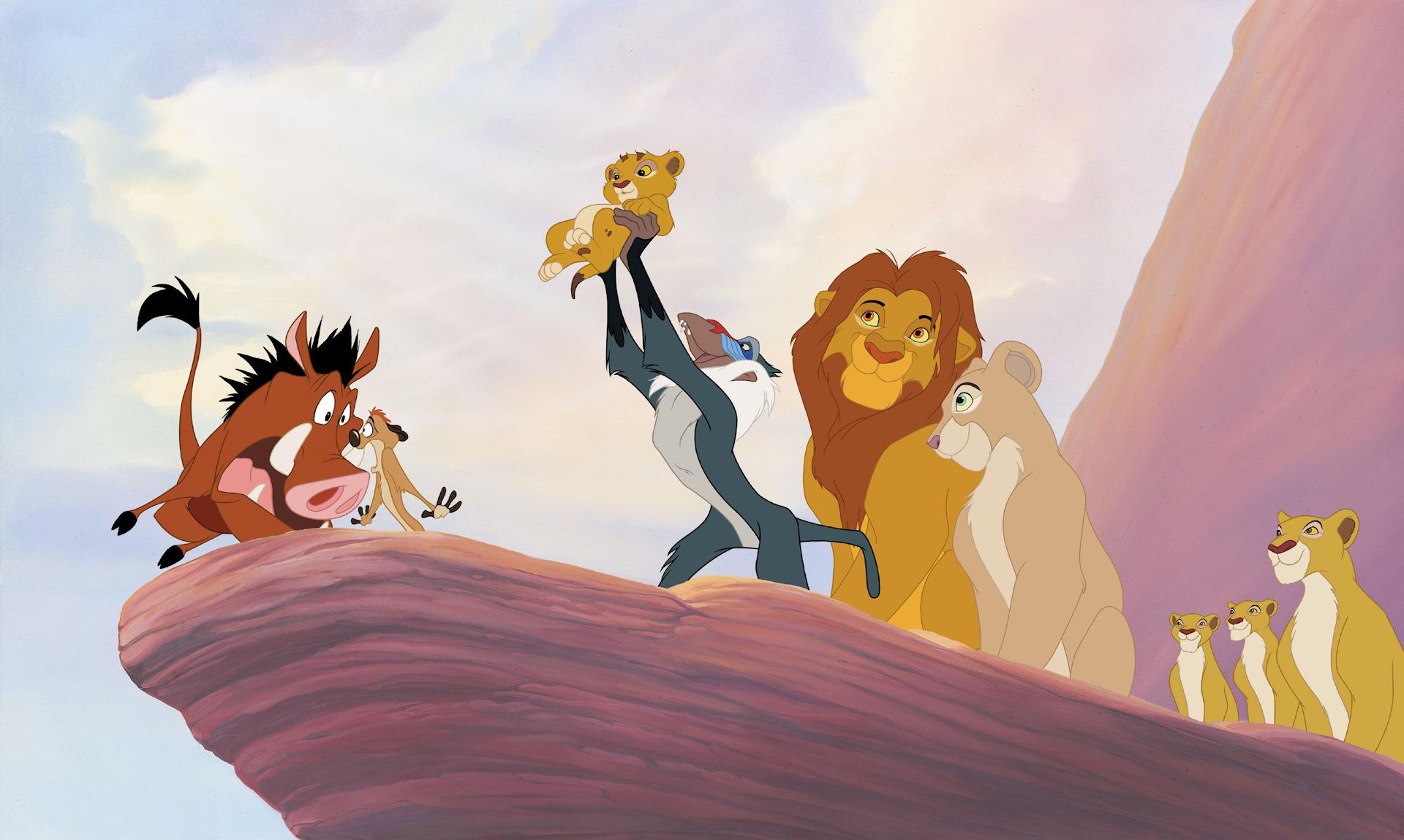 здесь картинка короля льва на скале унижение мерзость вот
