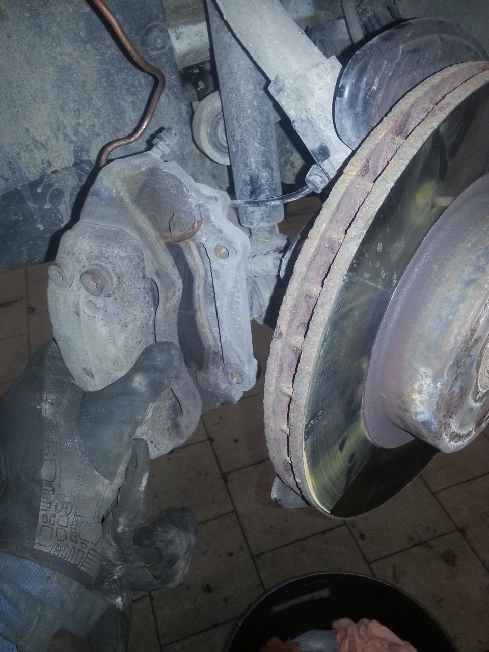 замена переднего ступичного подшипника на мерседес 220