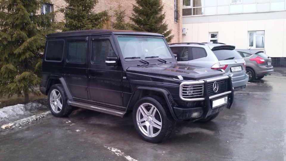 Mercedes benz g class 3 2 v6 drive2 for Pros and cons of owning a mercedes benz