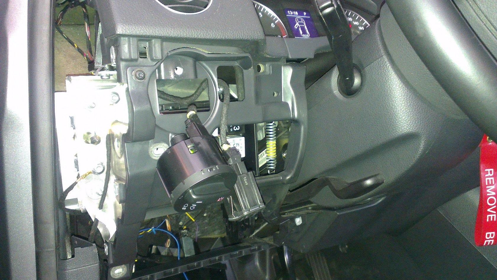 Diy installing oem rain light sensor auto dimming