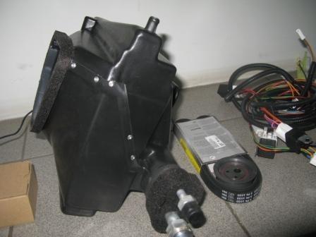 Схема установка кондиционера в ниву кондиционеры panasonic с вентиляцией