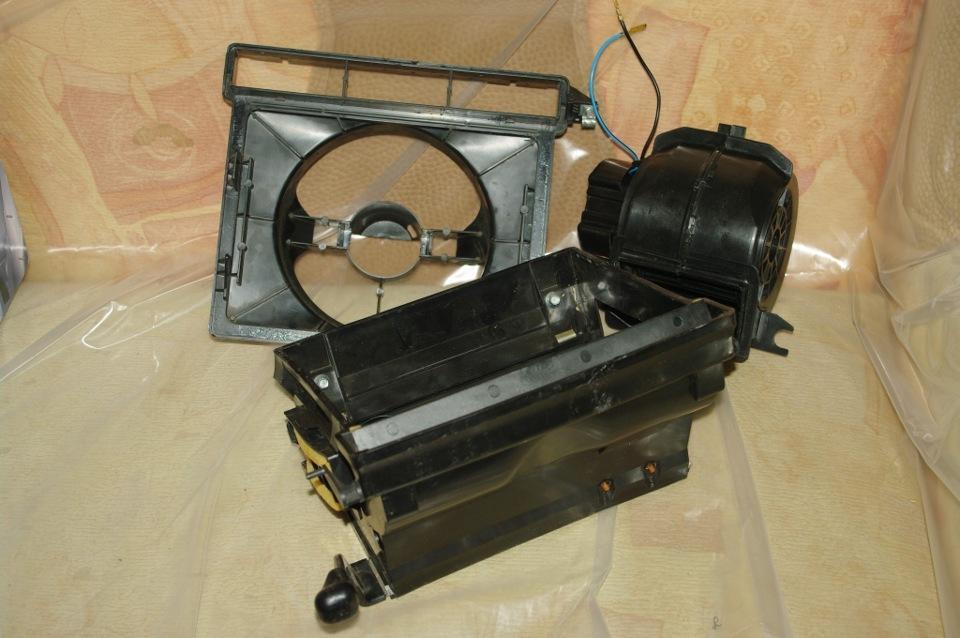 Сравнение вентиляторов отопителя (моторов печки) ВАЗ