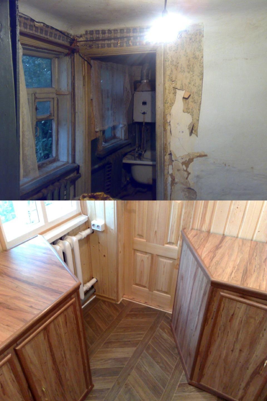 правда, ремонт старых домов в картинках представляет