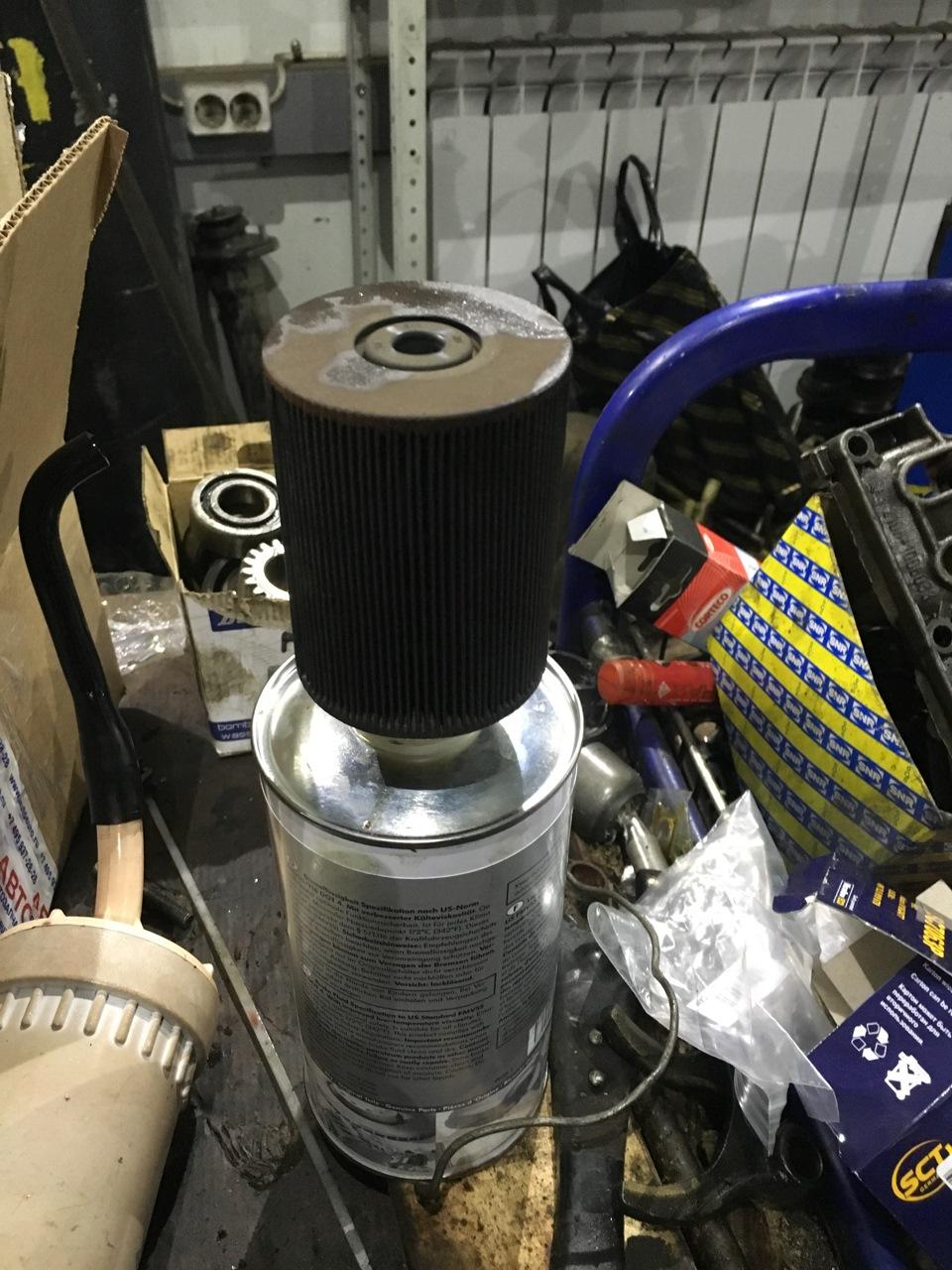 замена топливного фильтра porsche cayenne