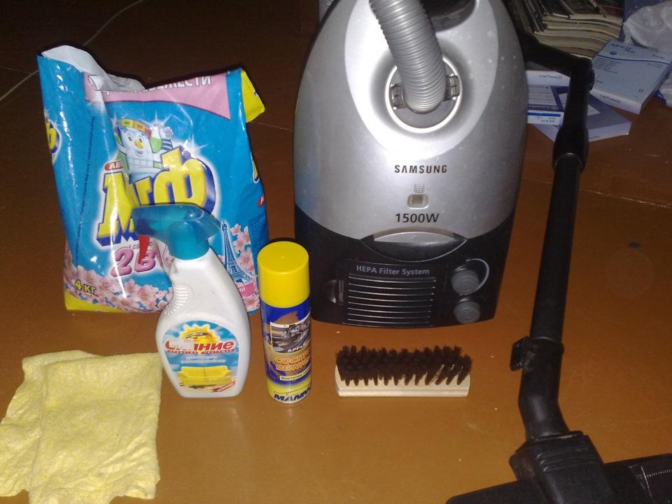 Моющее средство для моющих пылесосов своими руками