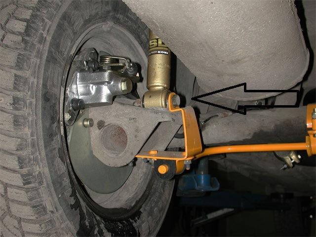 Фото №8 - как проверить задние стойки ВАЗ 2110