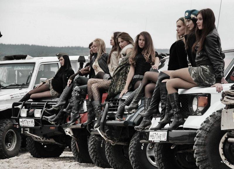 Pioneer68 › блог › оружие девушки и джипы