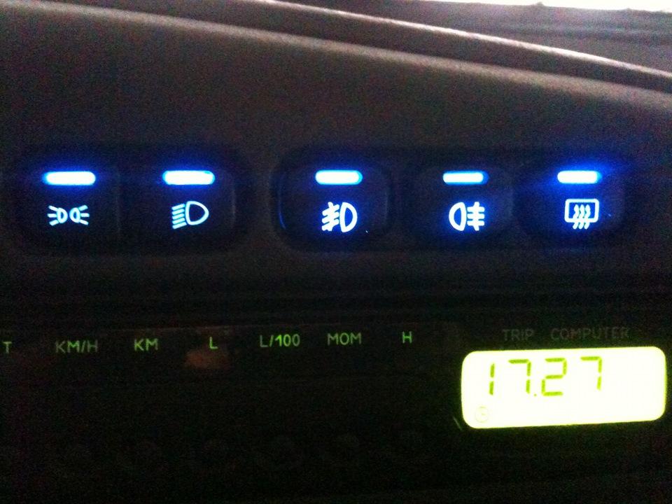Как сделать индикатор синим
