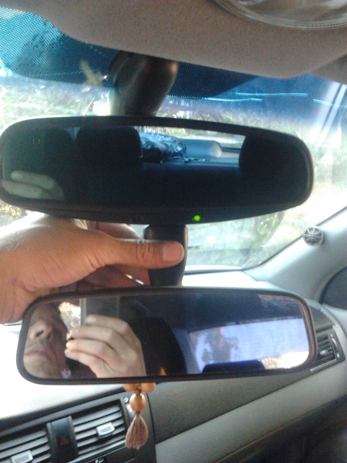 снятие зеркала заднего вида chevrolet evanda, epica