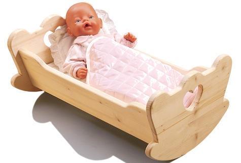 Как сделать кроватку для кукол своими руками 31