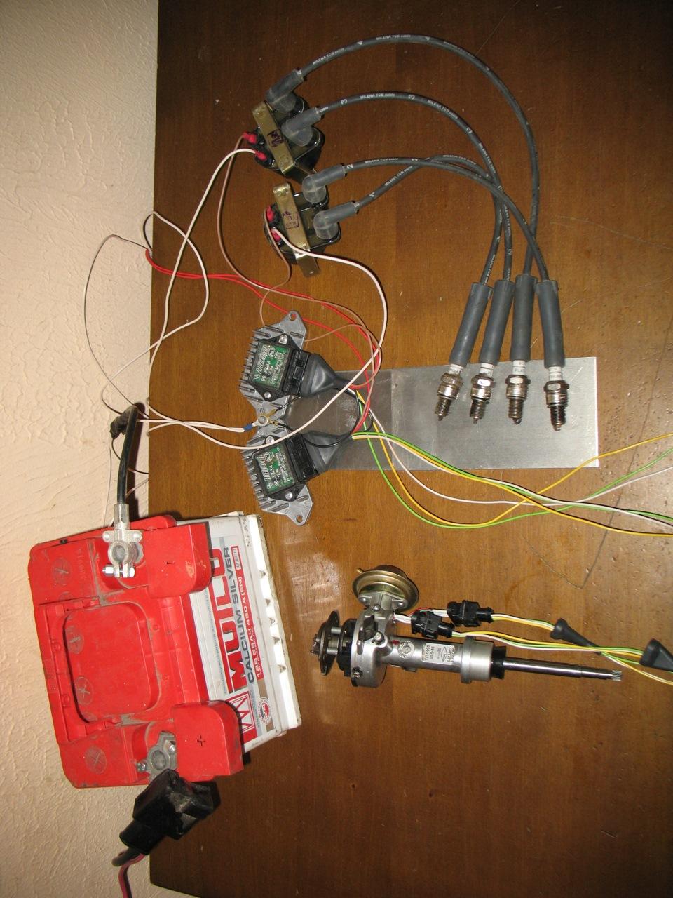Как сделать модуль зажигание