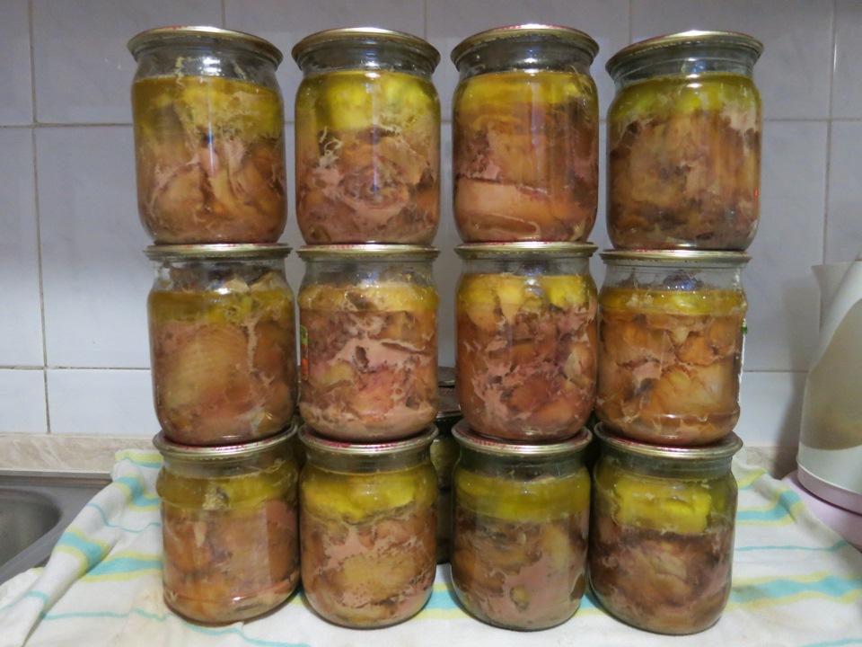 домашняя куриная тушенка рецепт фото