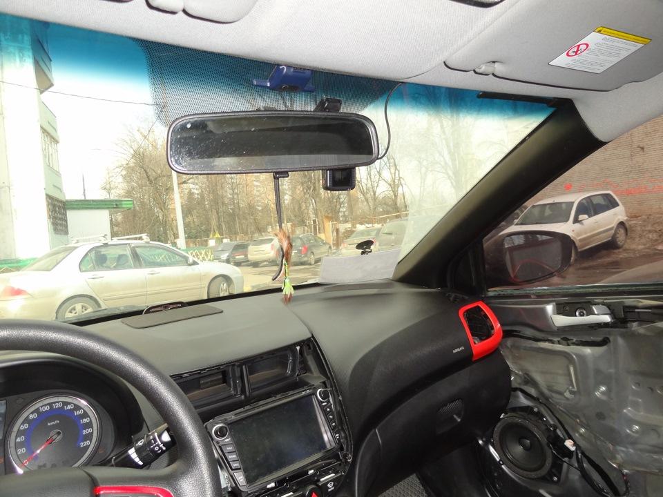 Расположение регистратора в авто просмотр видео с регистратора
