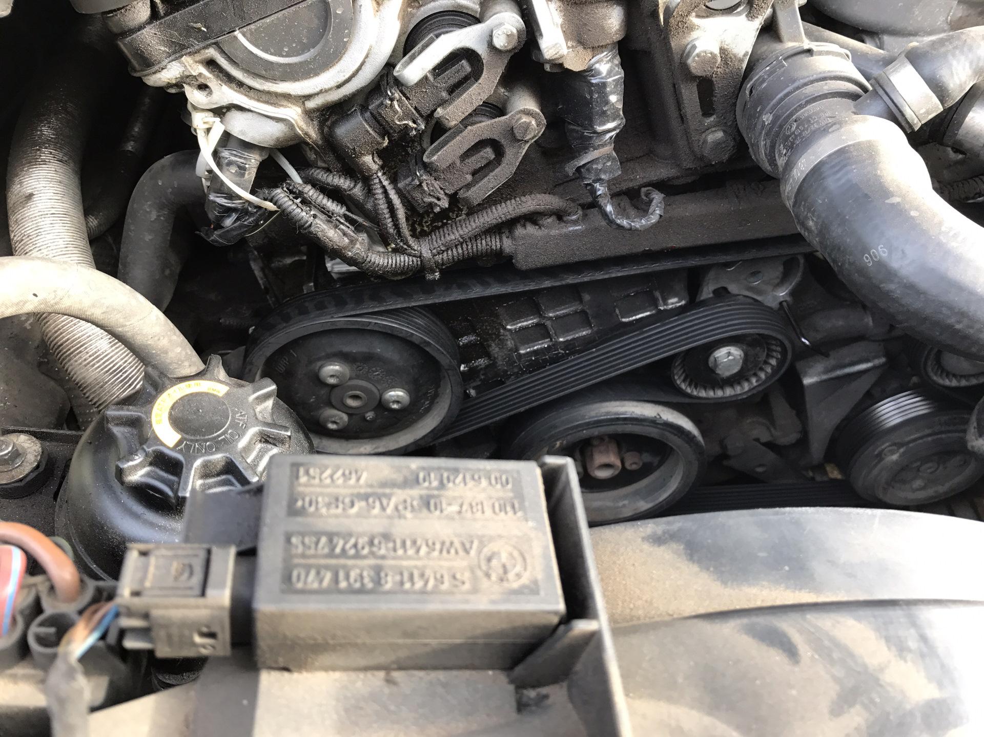 как снять генератор с bmw 318 ti